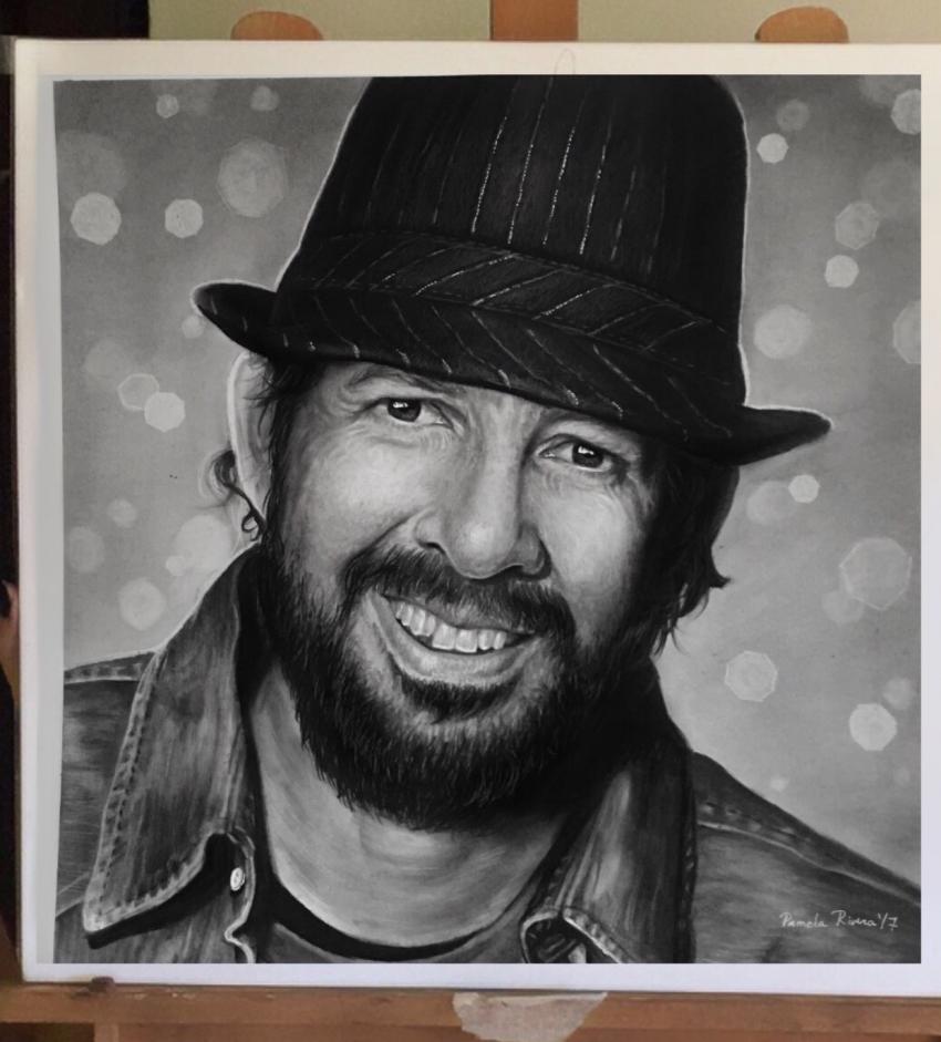 Juan Luis Guerra by pamela